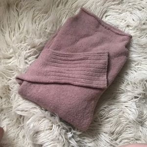 Madewell inland sweater pullover in blush S